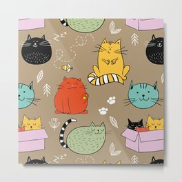 Lovely Cat Metal Print