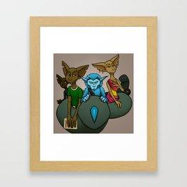 Tattle Framed Art Print