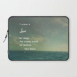 Deeper Than the Ocean Laptop Sleeve
