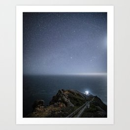 Point Reyes Lighthouse, Point Reyes, CA Art Print