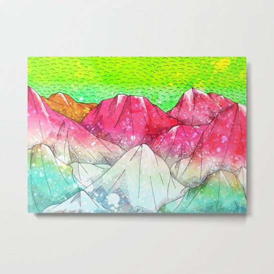 The watermelon hills Metal Print