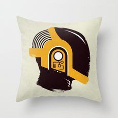 Daft Punk - RAM (Guy-Manuel) Throw Pillow