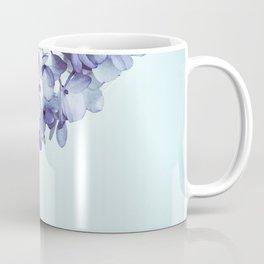 Floral fringe - french blue Coffee Mug