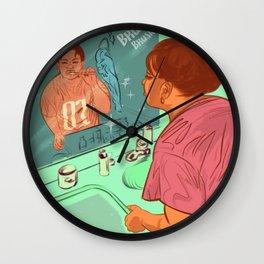 BRUSH! Wall Clock
