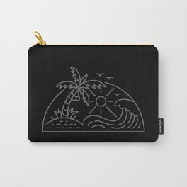 Sun & Wave Carry-All Pouch