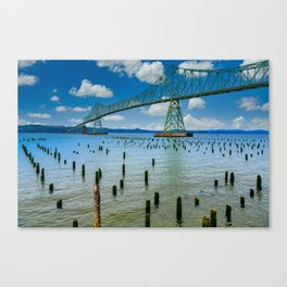 Astoria Oregon Bridge Canvas Print