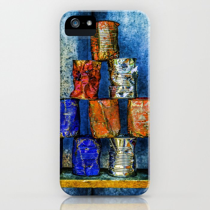 Soup Cans - Square Meal iPhone Case