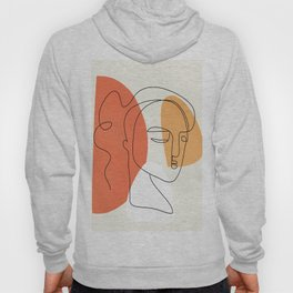Abstract Face 24 Hoody
