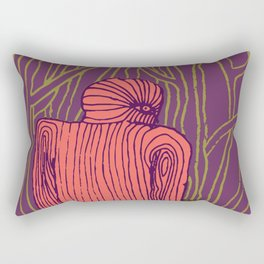Thinking Creature Rectangular Pillow
