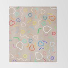 Confetti Party Throw Blanket