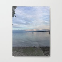 Lovely Evening Photography Metal Print