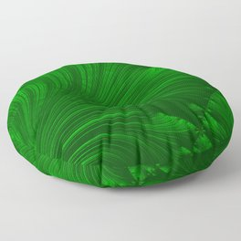 Renaissance Green Floor Pillow