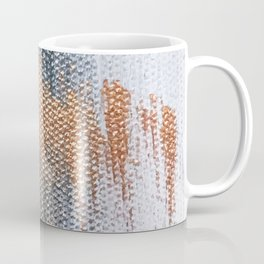 Rose Gold Dream - Abstract Oil Painting Coffee Mug