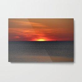 Magic Sunset Metal Print