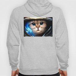 Cat astronaut Hoody