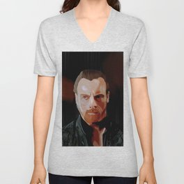 Captain Flint - Orange Paiting Unisex V-Neck