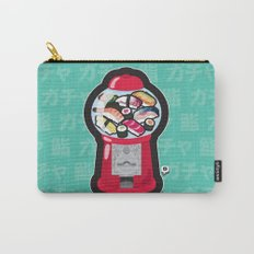 Gumball Sushi   ガチャ ガチャ 鮨 Carry-All Pouch