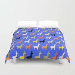 Llamas Duvet Cover