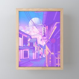 City Pop Kyoto Framed Mini Art Print
