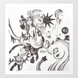 Mundo Sumergido Art Print