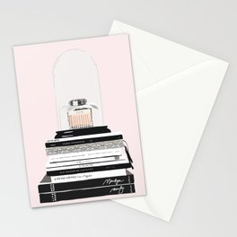 The Perfume & the Fashion Magazines Stationery Cards