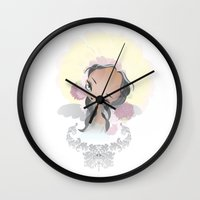 halo Wall Clocks featuring Halo by Aillustrations