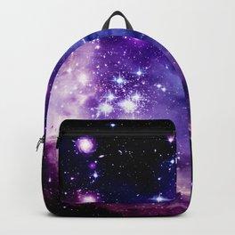 Galaxy .  Deep Purple & Blue Backpack