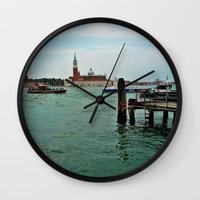 venice Wall Clocks featuring Venice by Art-Motiva