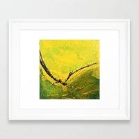 flight Framed Art Prints featuring Flight by RvHART