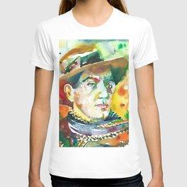 FRITZ LANG - watercolor portrait.2 T-shirt