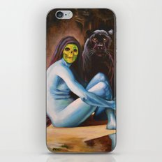 Seated Sorcerer iPhone & iPod Skin