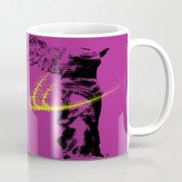 nike Mugs featuring nike of samothrace by veronica ∨∧