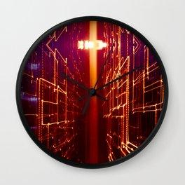 Sleep Lightning Wall Clock