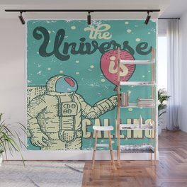 The Universe is calling - Baloon Wall Mural