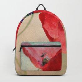 Poppies vintage(5) Backpack
