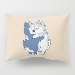 Husky Hugs Pillow Sham