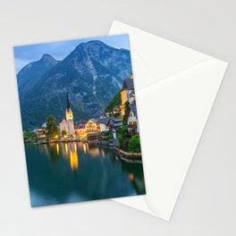 Hallstatt Village, Alps Stationery Cards