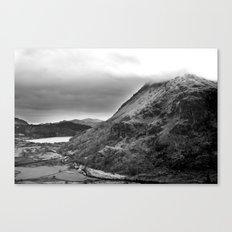 Mount Snowdon, Snowdonia, Wales. Canvas Print