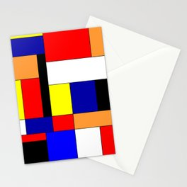 Mondriaan #9 Stationery Cards