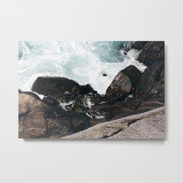 The Ocean Calls (Spring) Metal Print