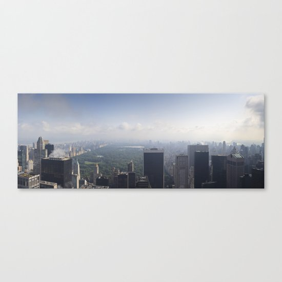 Central Park Panorama Canvas Print