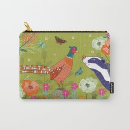 Very Pheasant to Meet You Carry-All Pouch