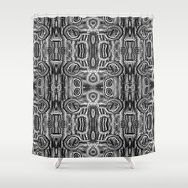 Life Cycle BW1 Shower Curtain