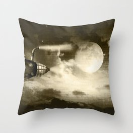 Dream Drifters II Throw Pillow