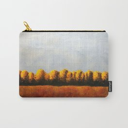 Treeline in Fall Carry-All Pouch