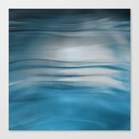 under the sea Canvas Prints featuring Under Sea by Lena Weiss