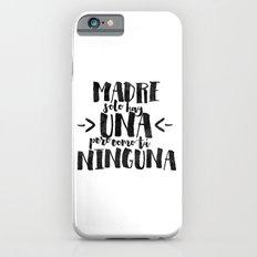 Madre sólo hay una iPhone 6s Slim Case