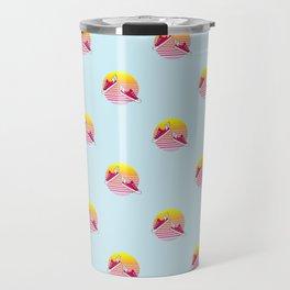 Summer dreams pattern Travel Mug