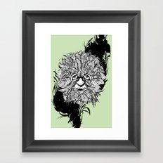 the green man Framed Art Print