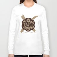 whiskey Long Sleeve T-shirts featuring Deadeye Whiskey! by Nick Rees Illustration